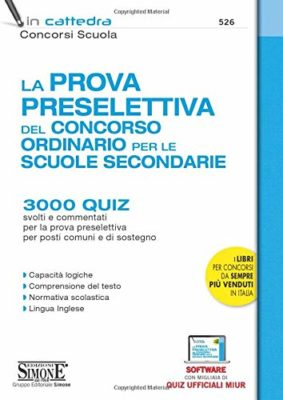 Classifica libri per concorso docenti scuola secondaria ([mese])