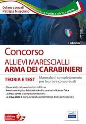 I 7 migliori libri per concorso maresciallo carabinieri